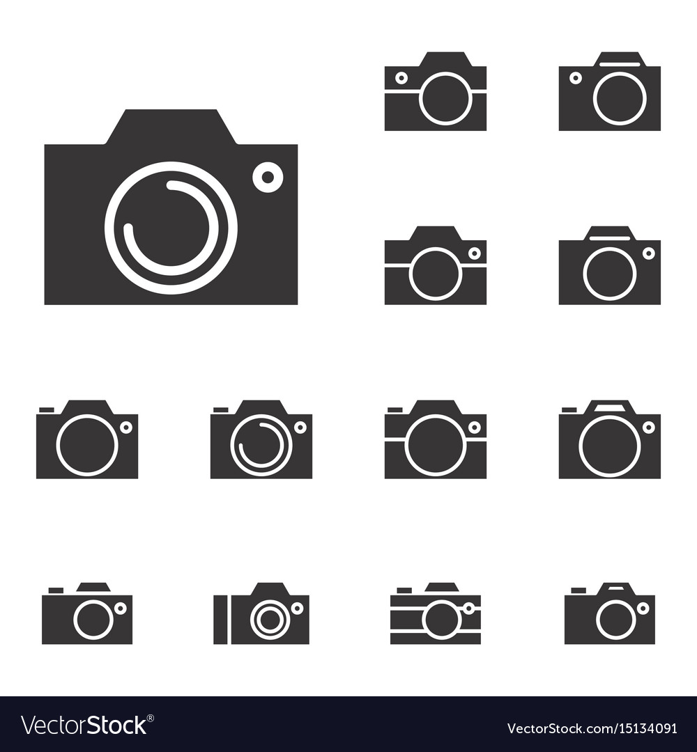 Photo camera icon or snapshot sign