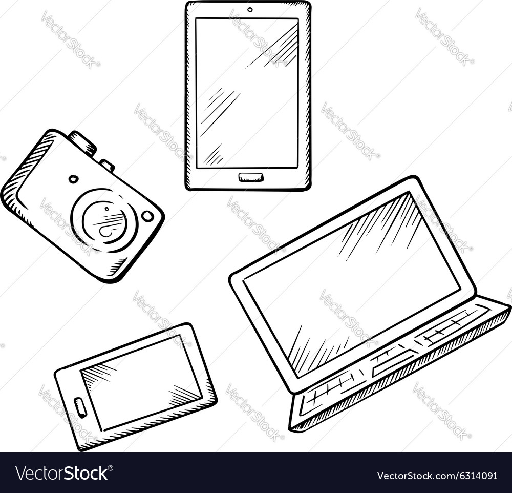Smartphone tablet pc laptop and camera