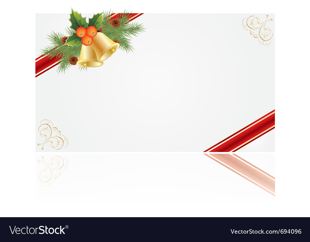 Christmas frames for creating greeting cards Vector Image