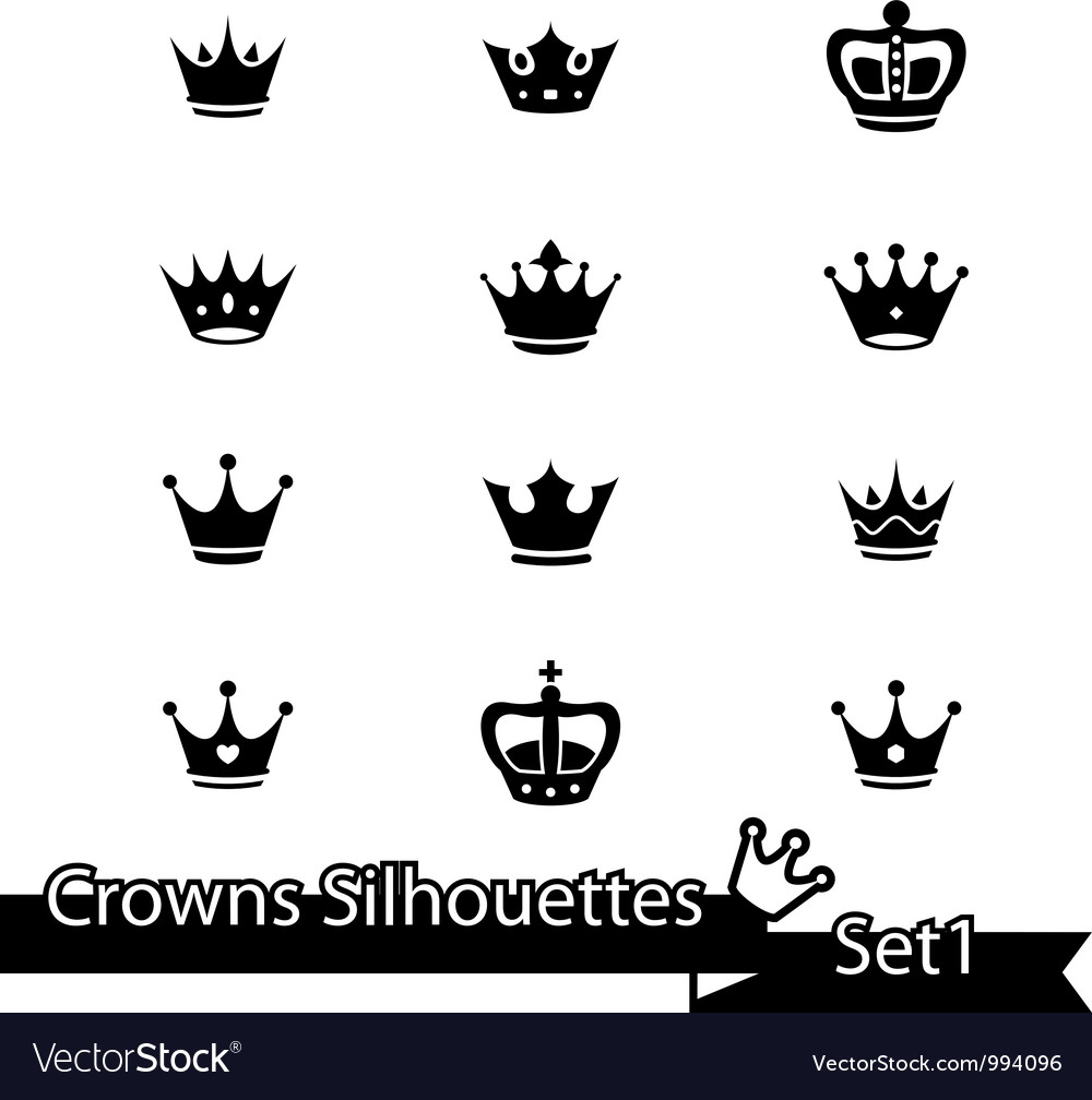 Crown collection - silhouette