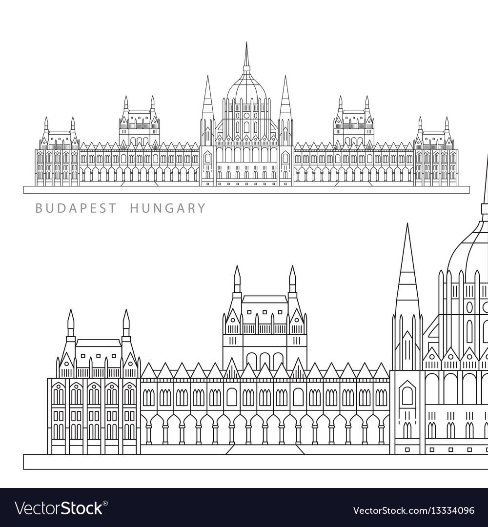 Hungarian parliament building symbol of