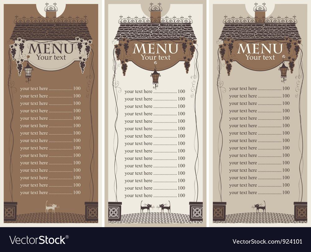 Grapes menu