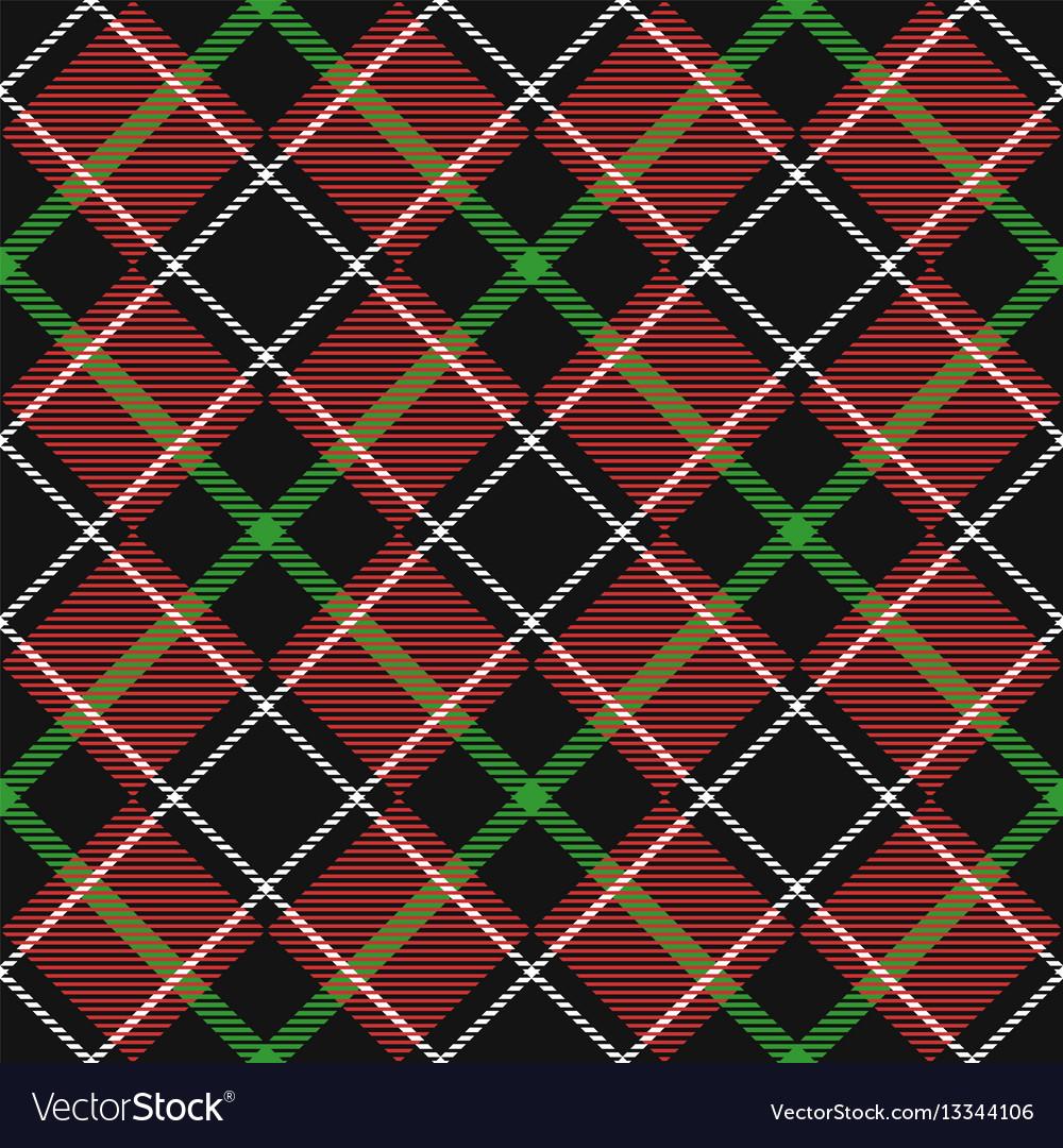 Seamless tartan backdrop vector image