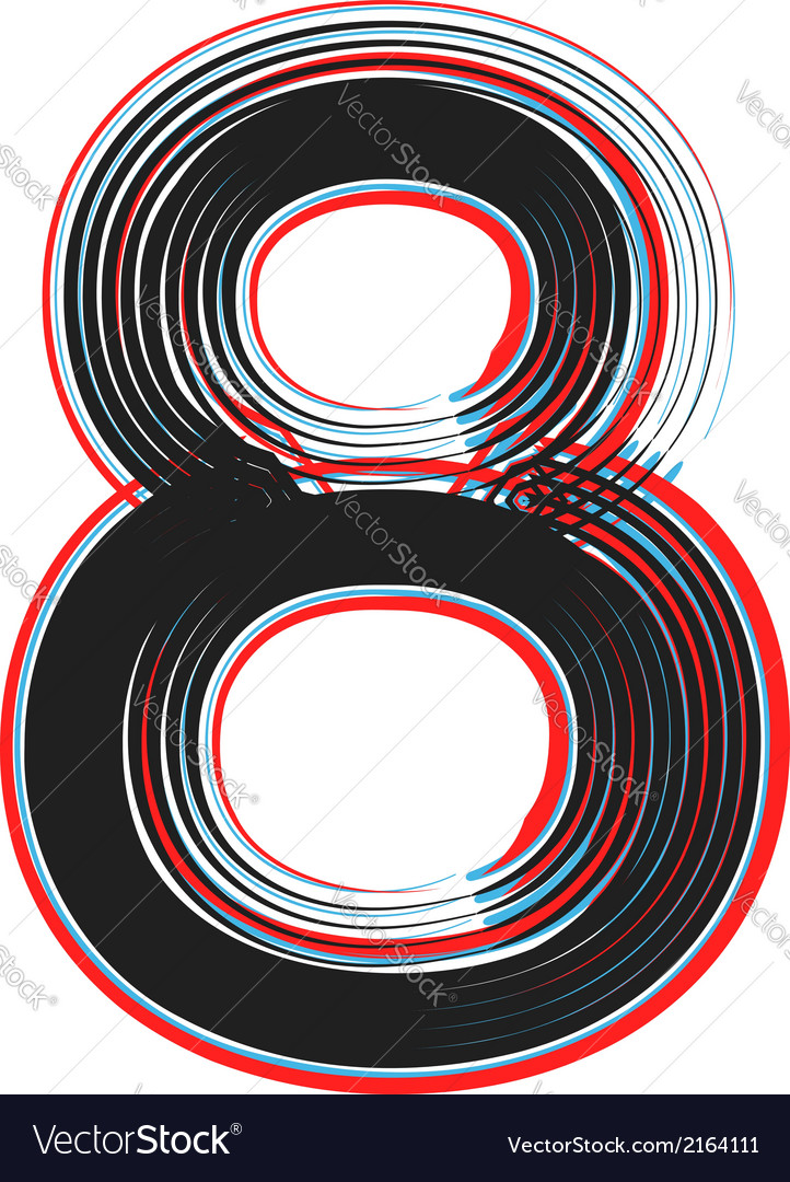 Abstract font number 8