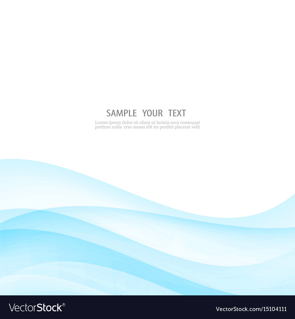 Abstract white background with blue