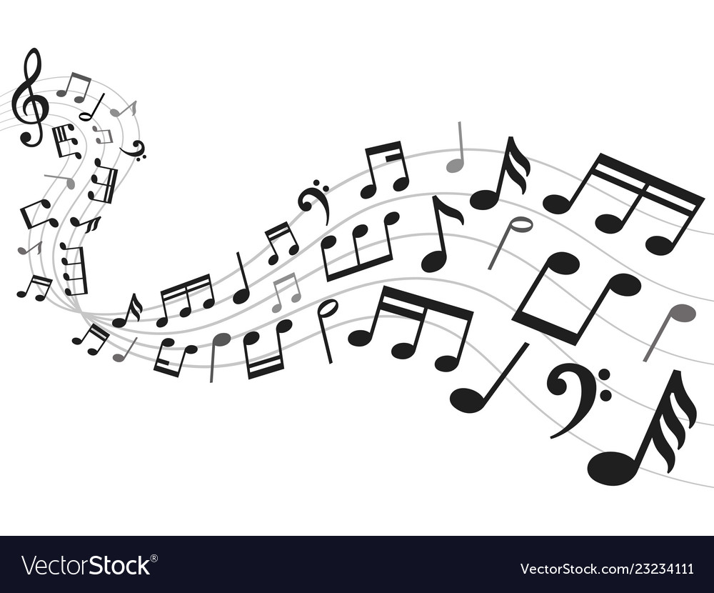 picture regarding Printable Music Notation titled Musical notes historical past new music notation sheet