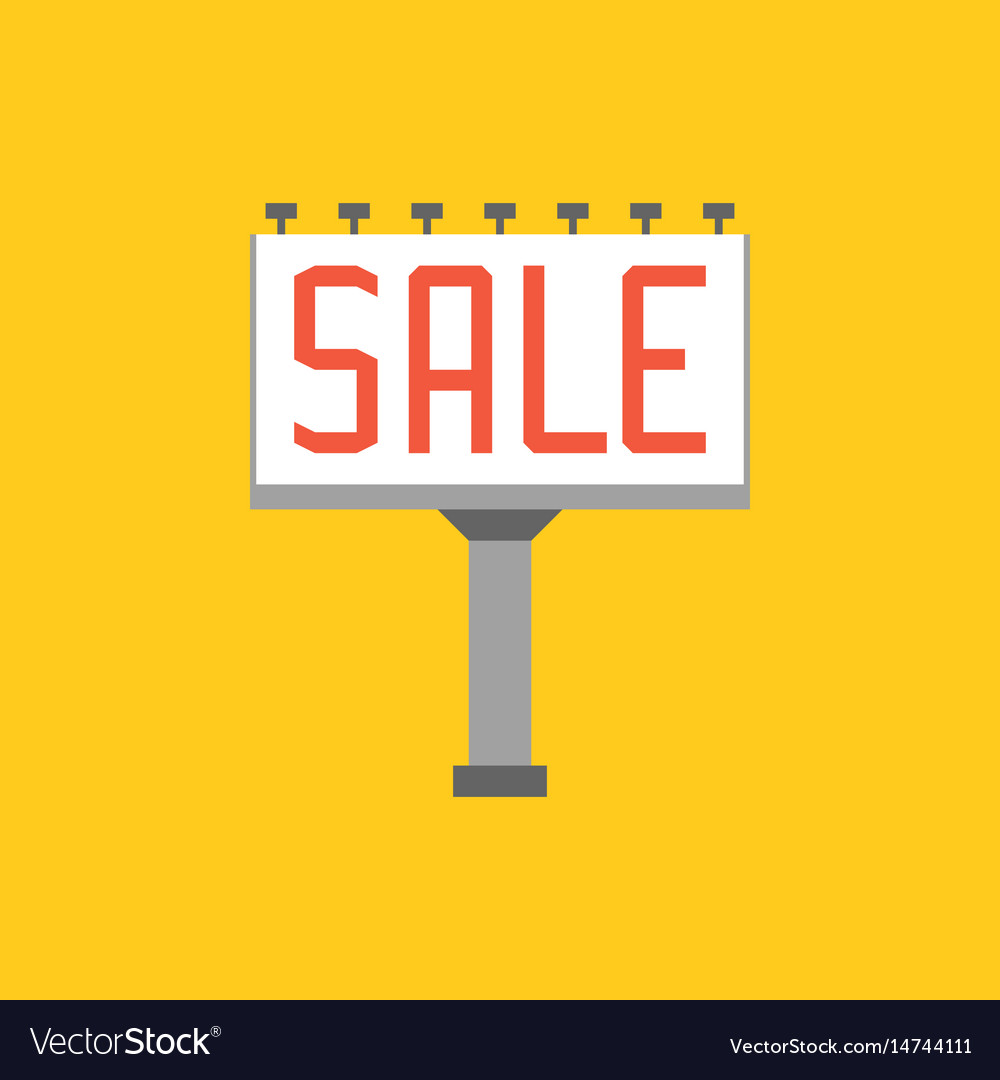 Sale billboard
