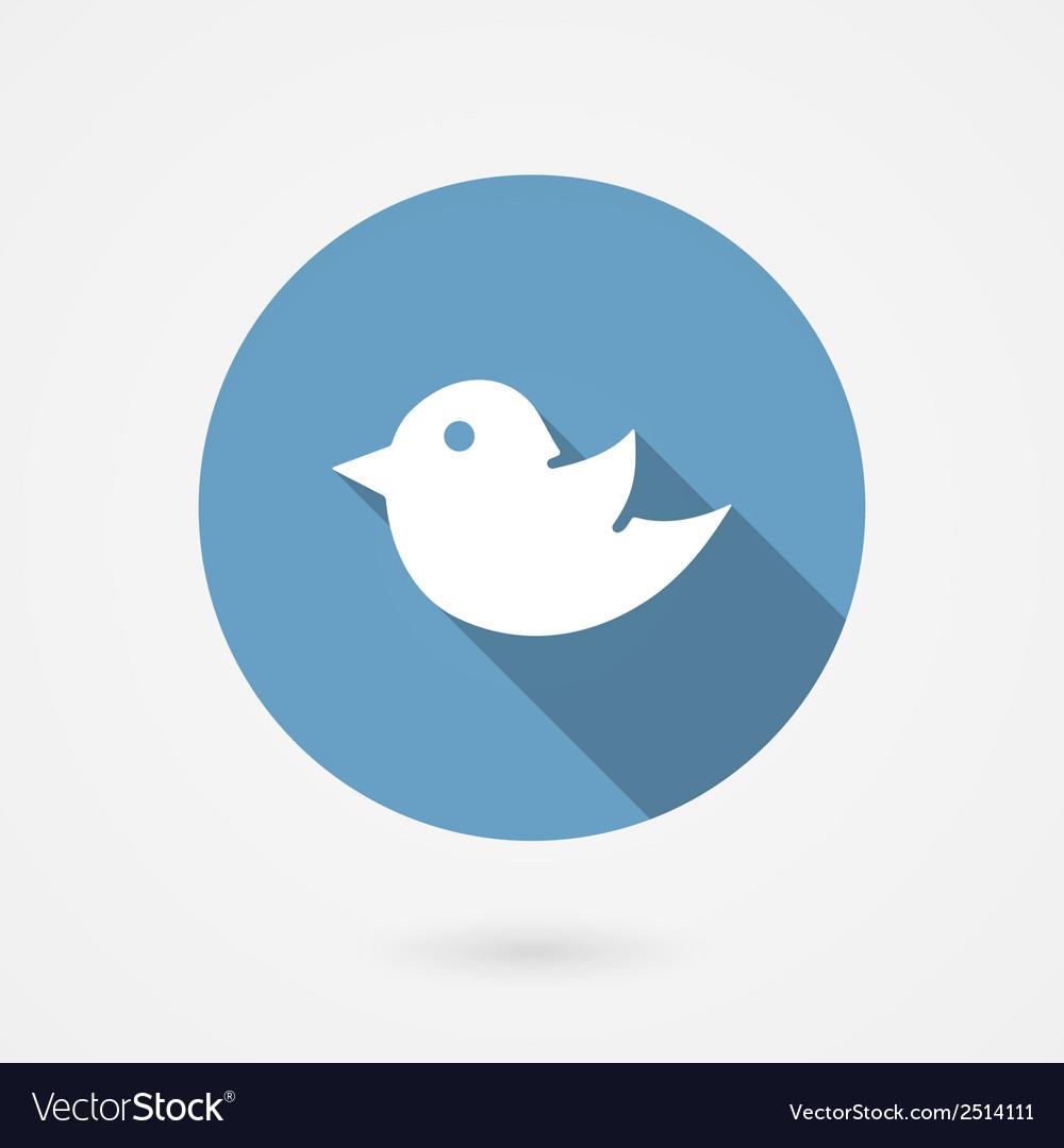 Twitter bird social media icon