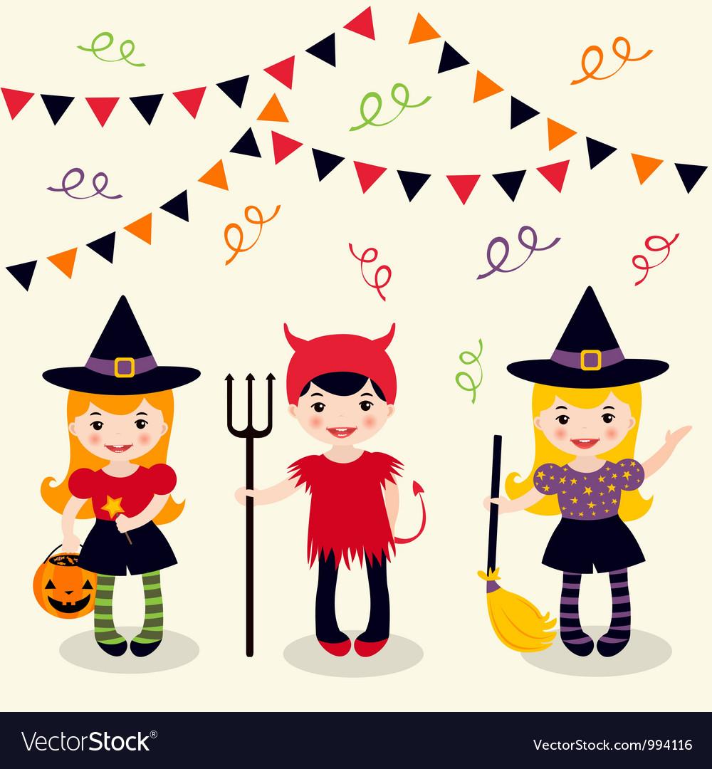 Halloween girls