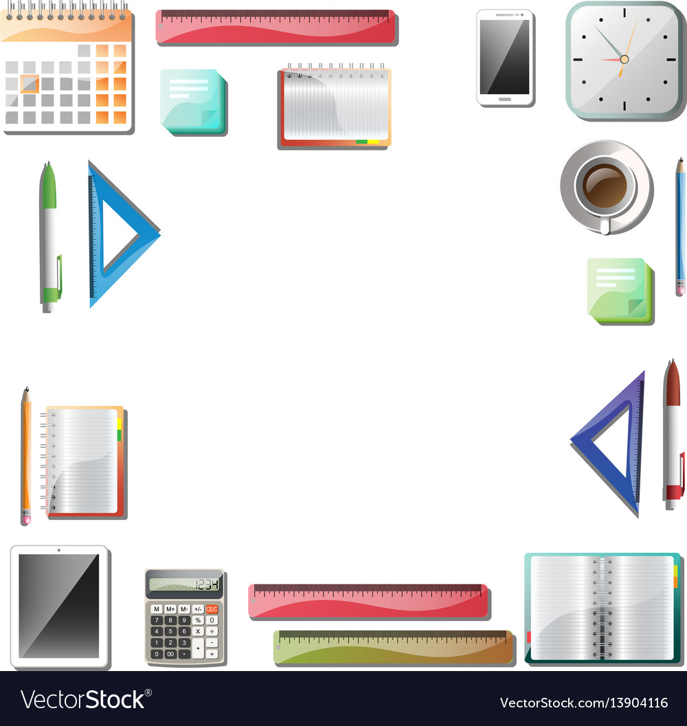 Office tools background