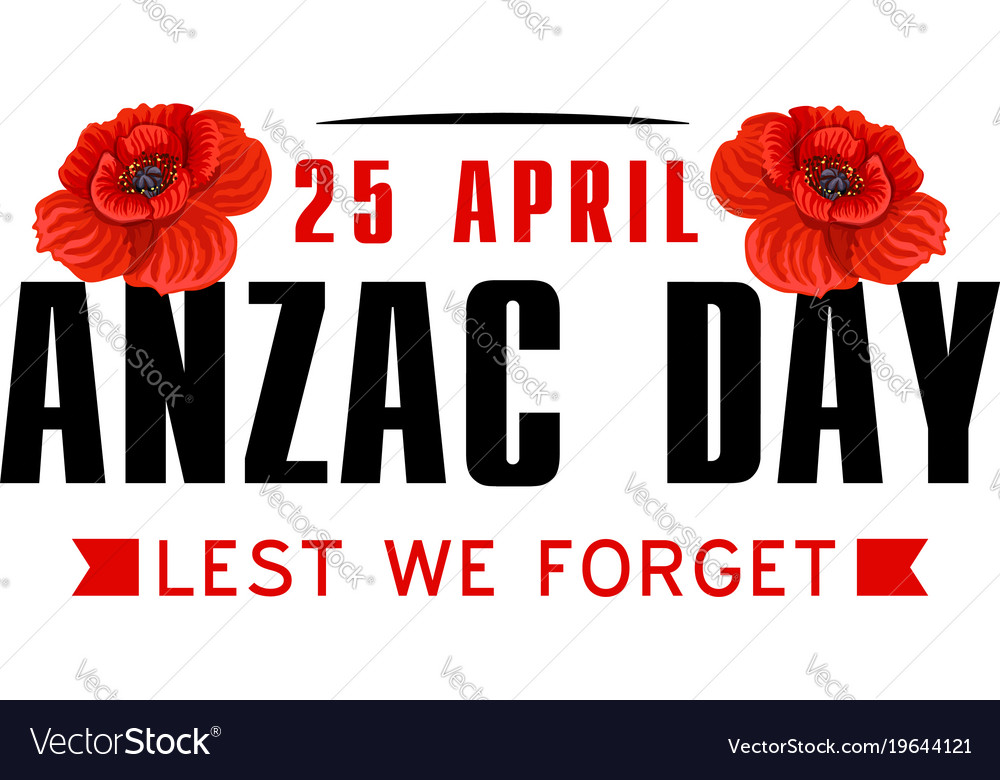 Anzac poppy flower icon for world war memorial day anzac poppy flower icon for world war memorial day vector image mightylinksfo