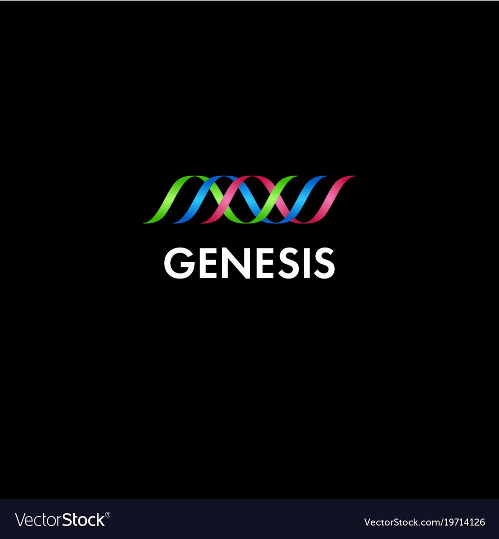 Genesis or genetics logo