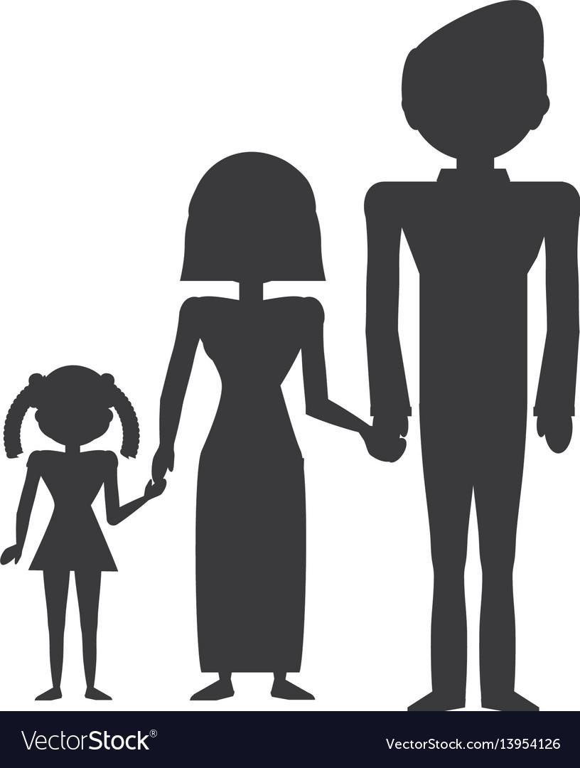 Pictogram family love members