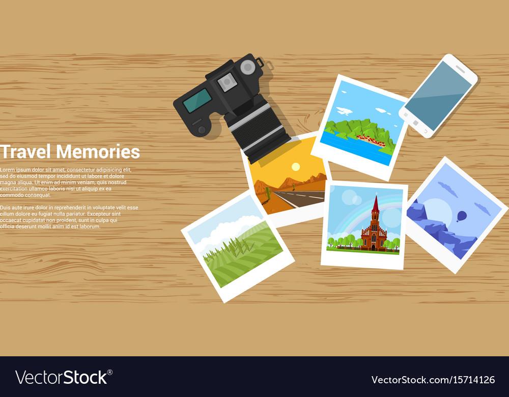 Travel memories banner