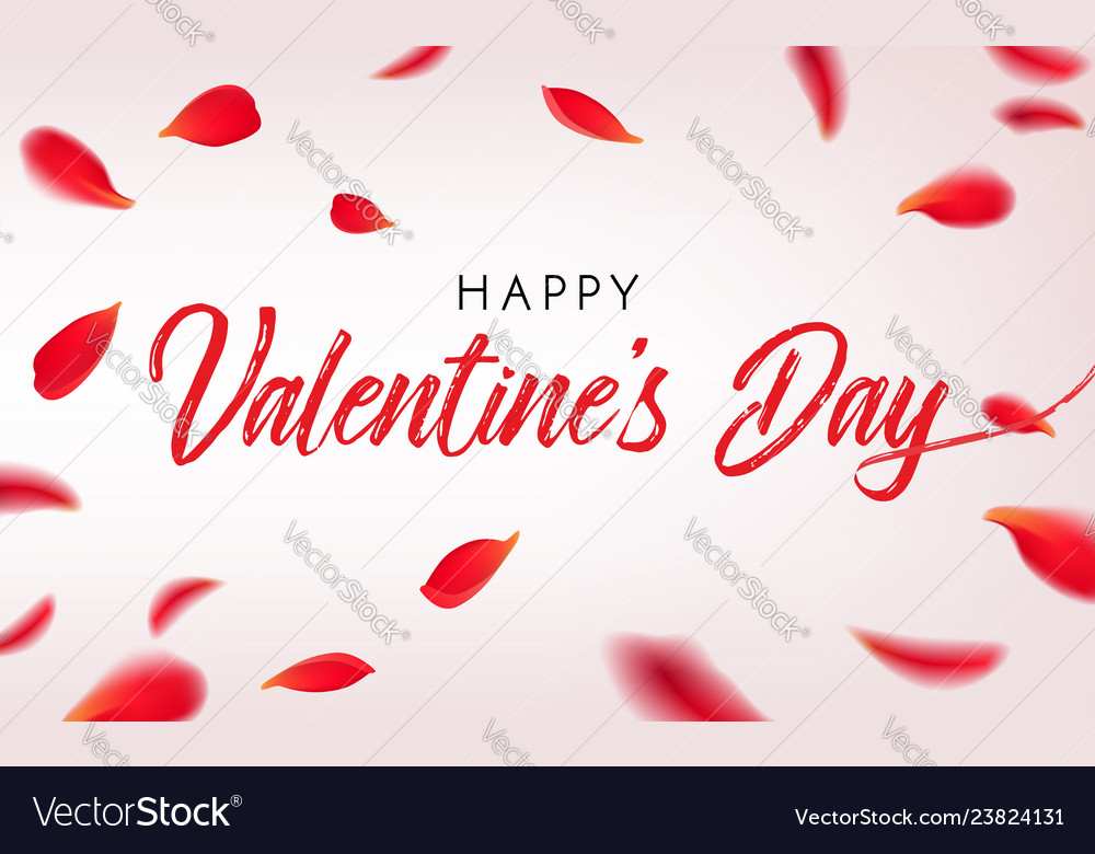 Happy st valentine s day greeting card
