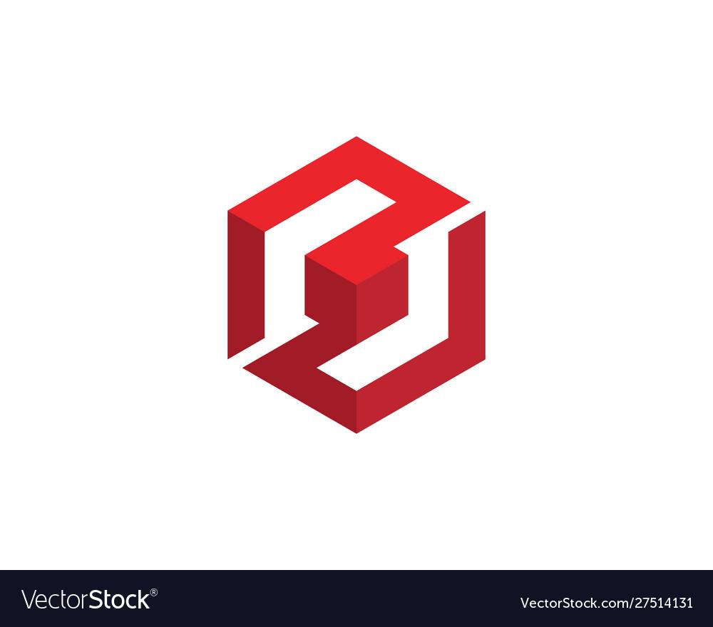 S logo hexagon icon
