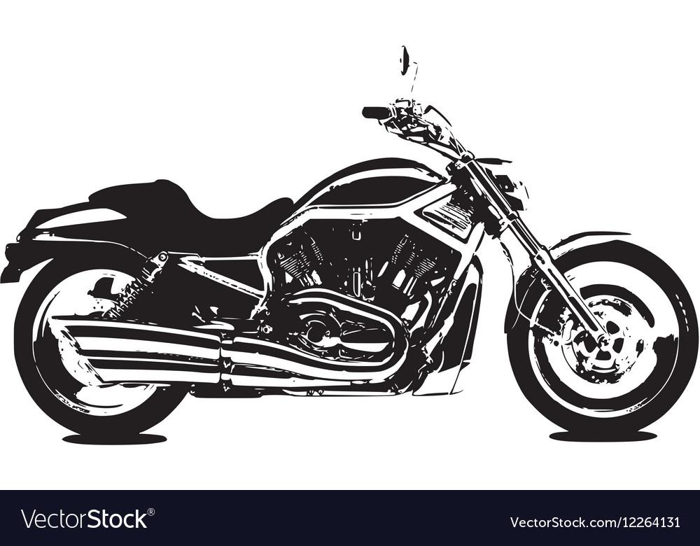 v rod bike royalty free vector image vectorstock