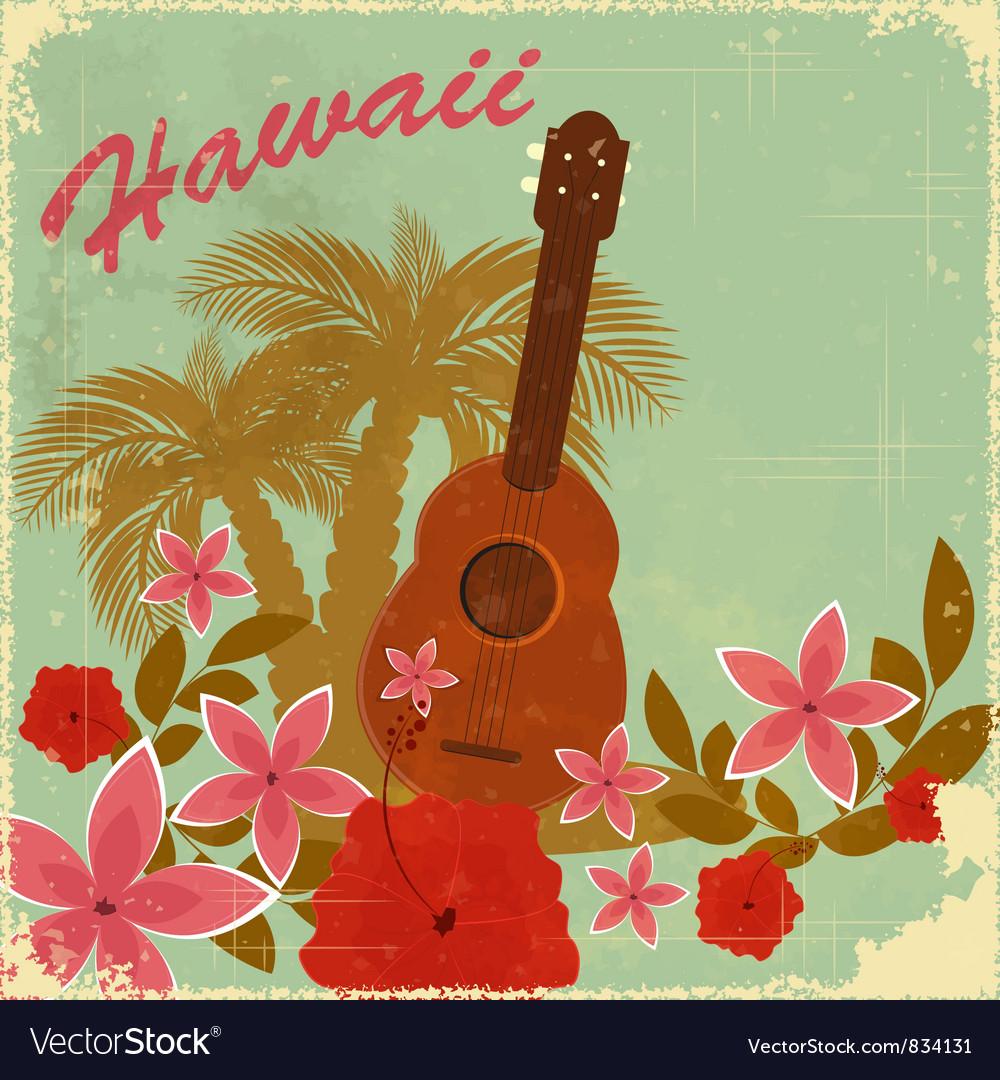 Vintage hawaiian postcard