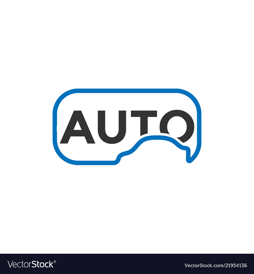 Clean automotive car logo icon design template