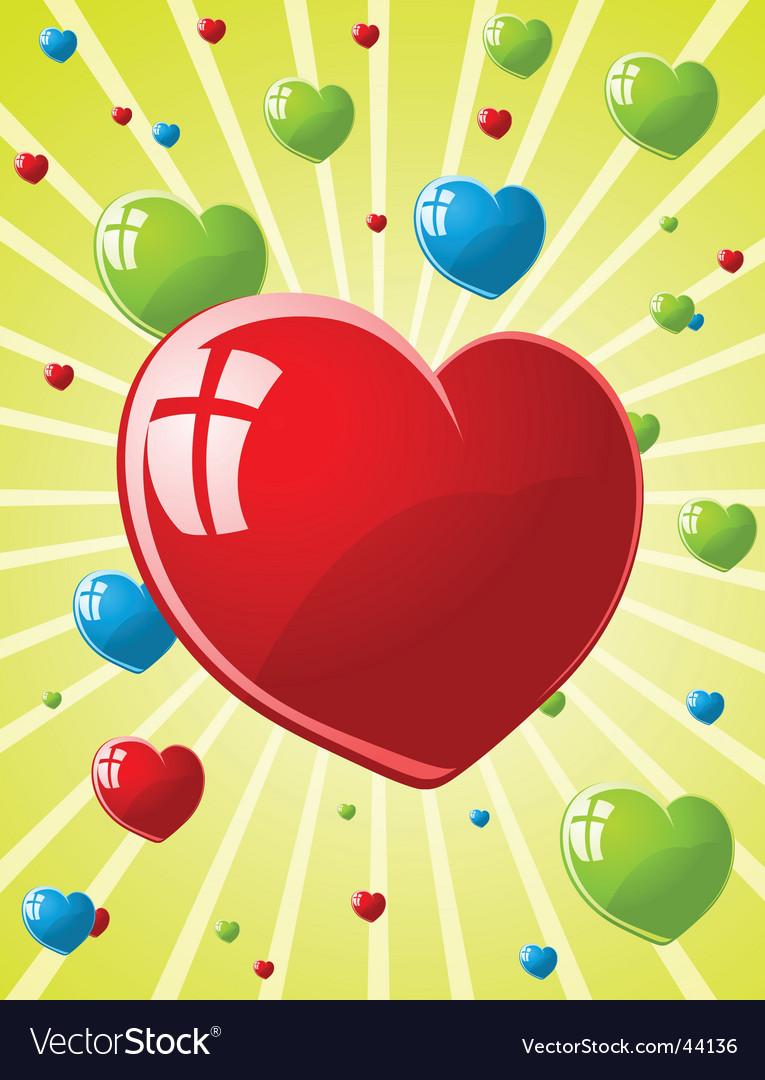 Illustration of valentines wallpaper