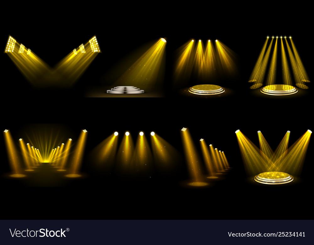 Set light effect spotlight