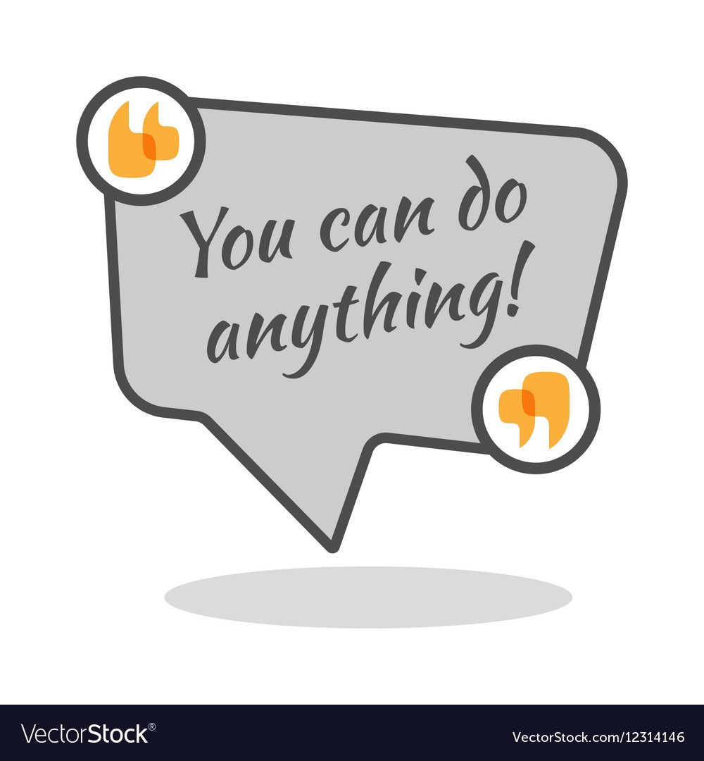 You can do anything motivational poster in