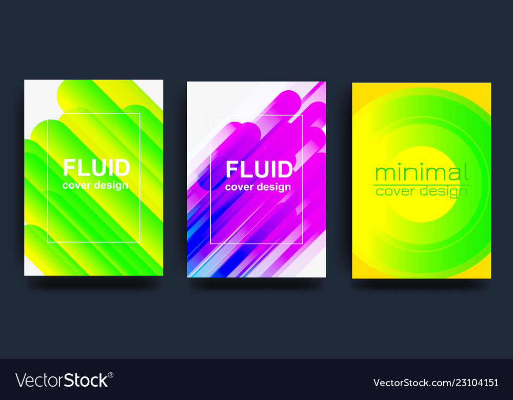 Covers with minimal design cool geometric