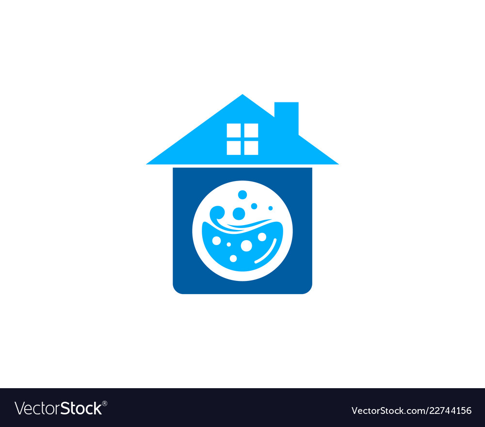 property laundry logo icon design royalty free vector image vectorstock