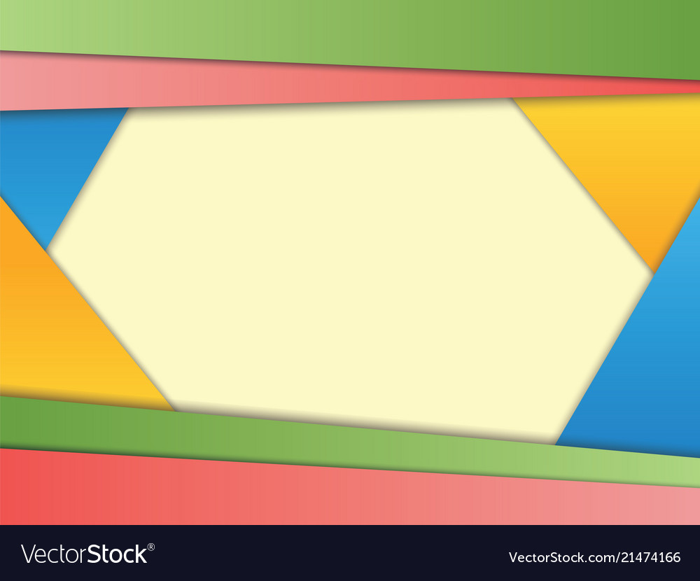 Abstract background with paper layers in modern