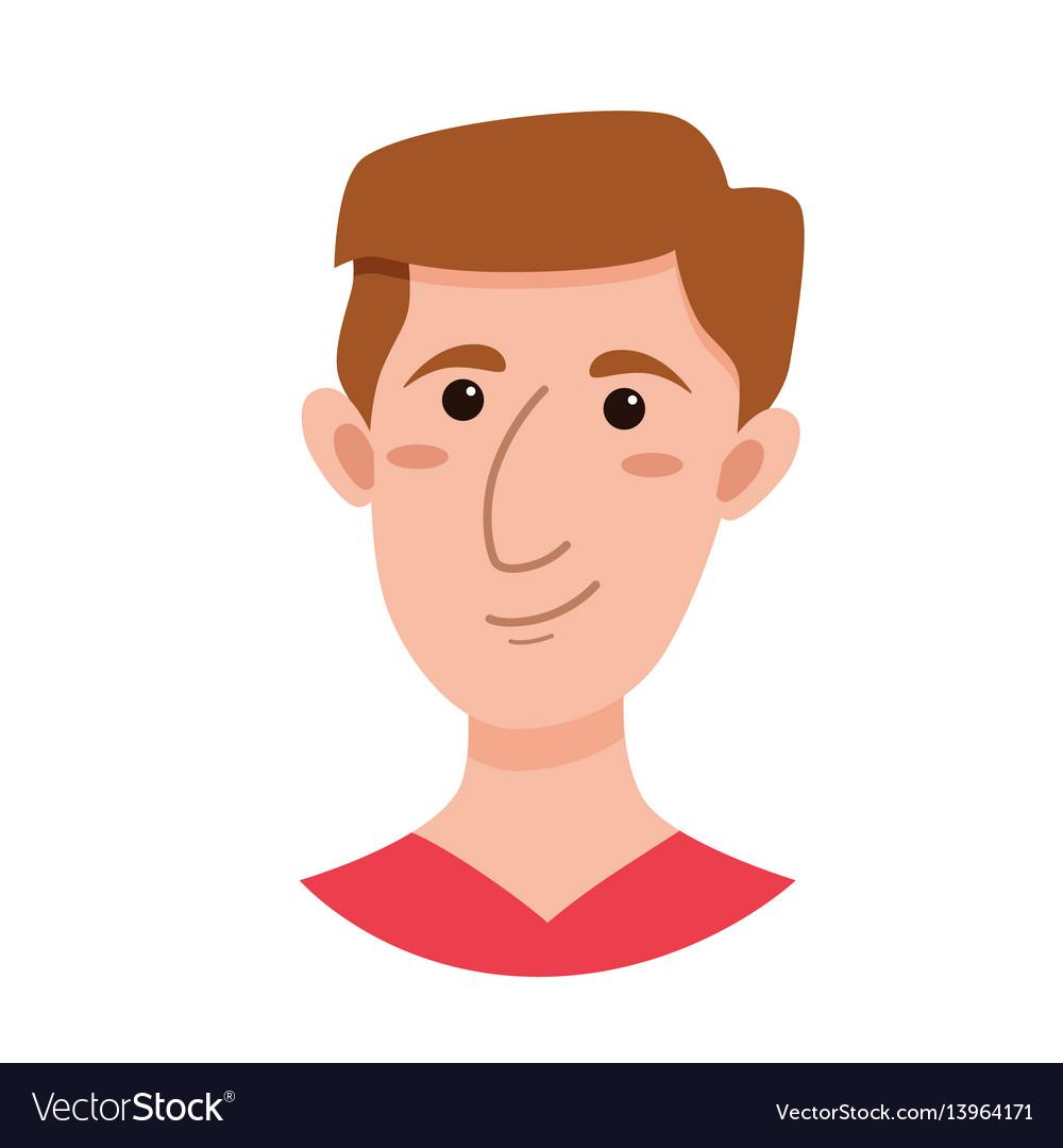 Male emoji cartoon character