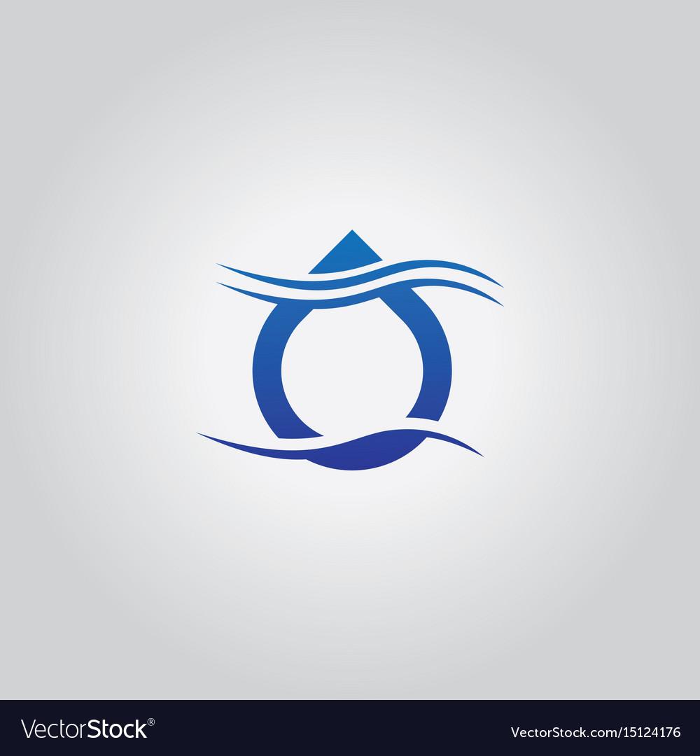 Droplet wave logo