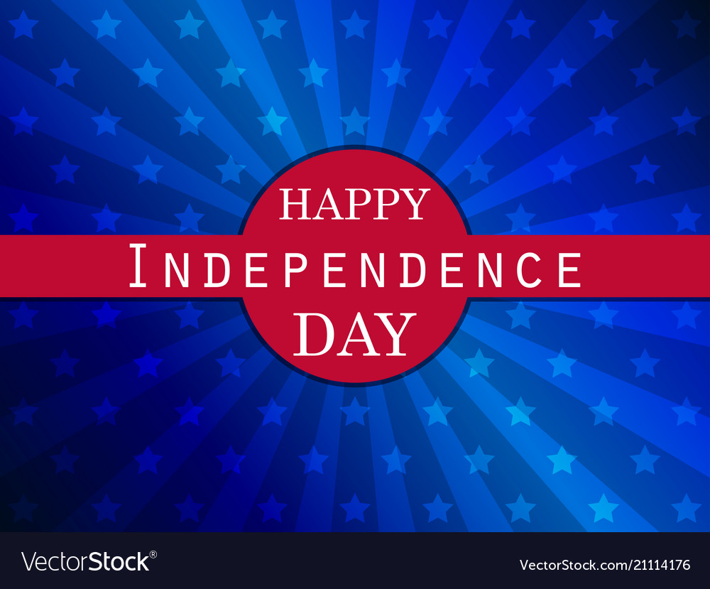 Independence day 4th of july patriotic greeting