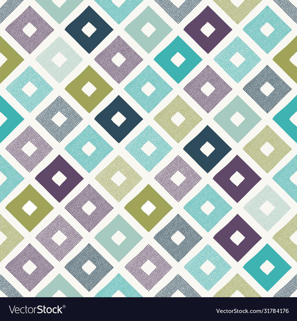 Seamless creative stylish modern rhombus pattern