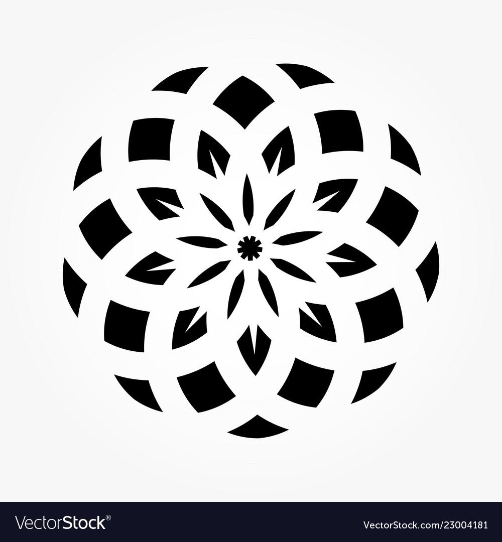 Abstract circular 0021