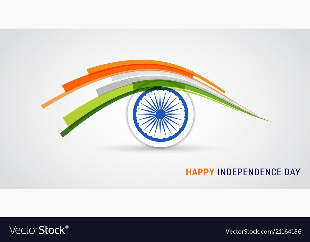 Indian holiday happy independence day celebration