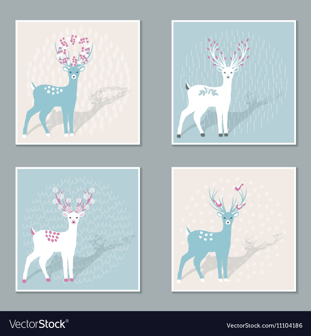 Set of Deers