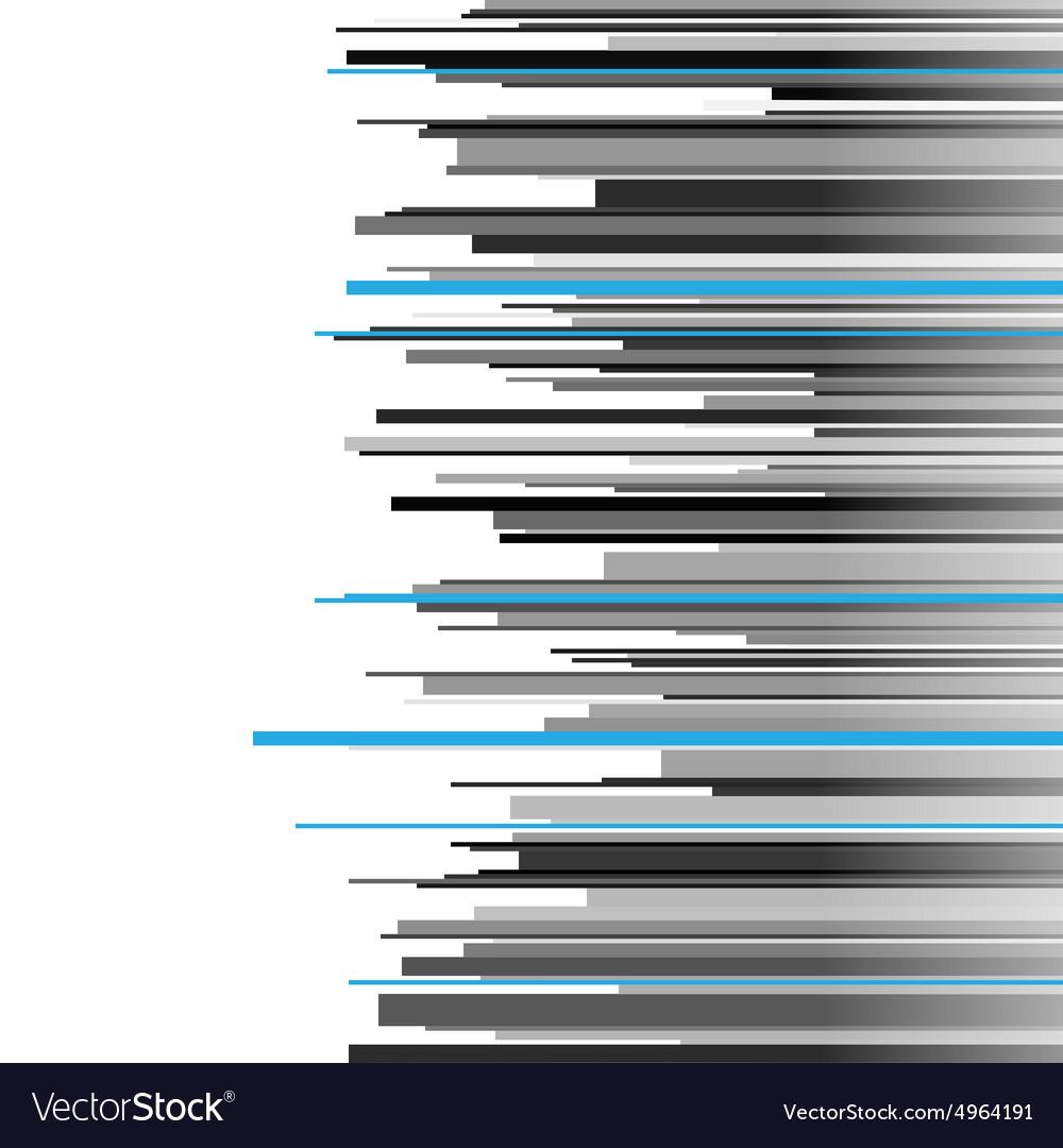 Abstract infographics horizontal gray black and vector image