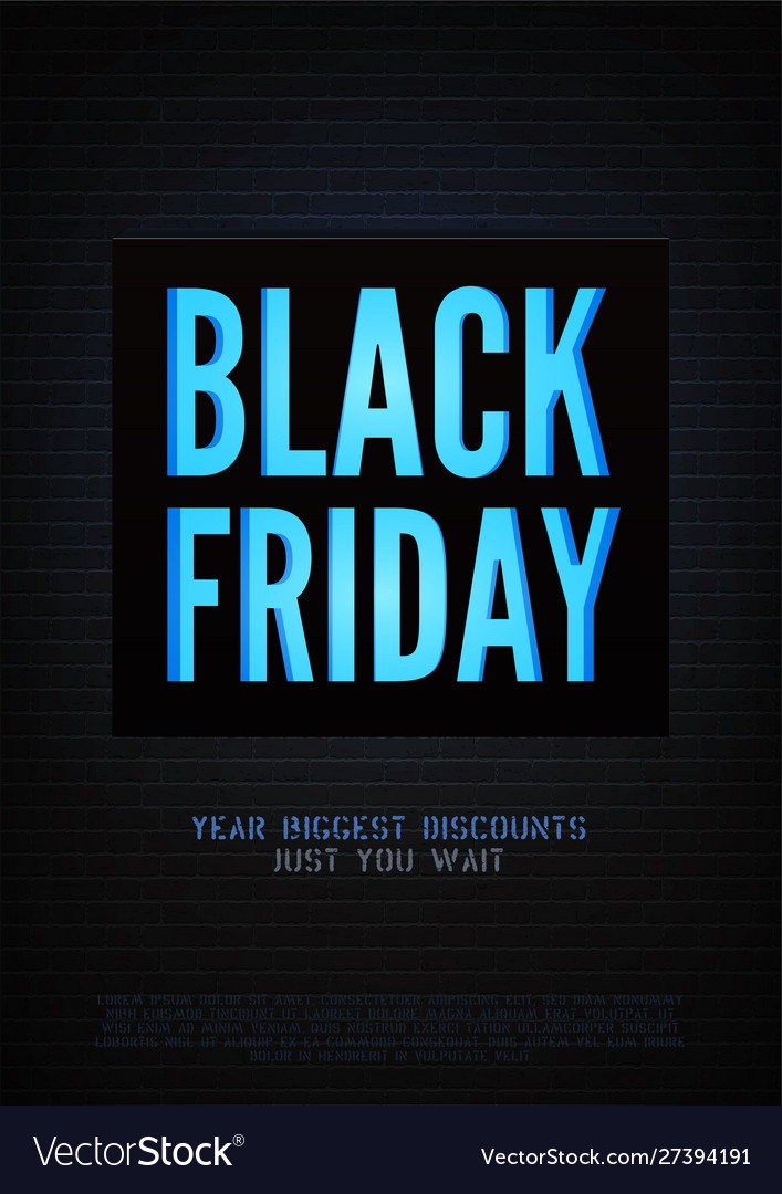 Biggest black friday discounts poster
