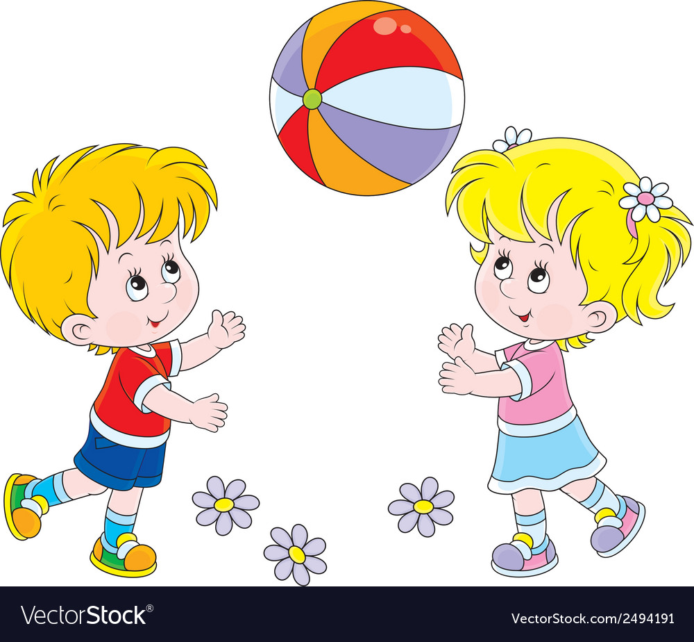 Free Pictures Of Children Playing - Coloring wall
