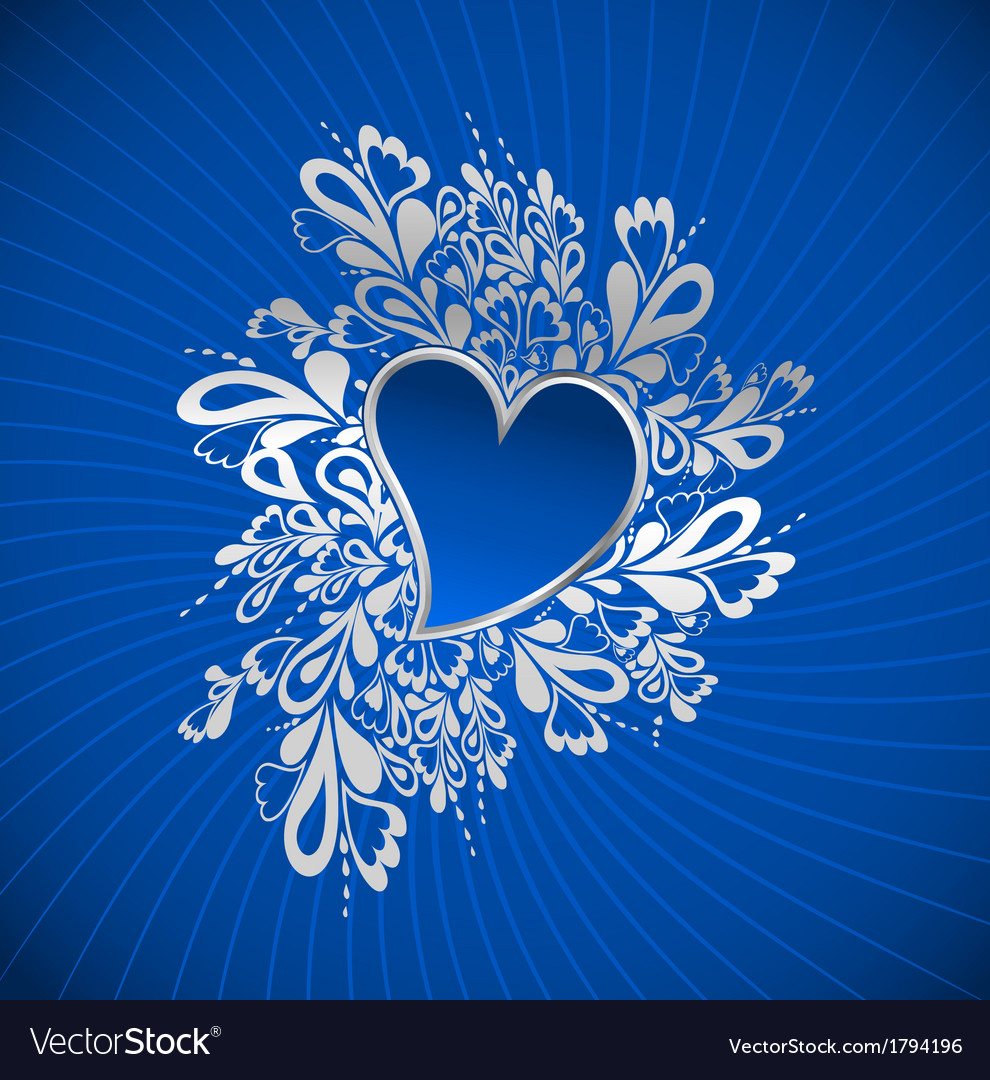 Blue Heart To The StValentine