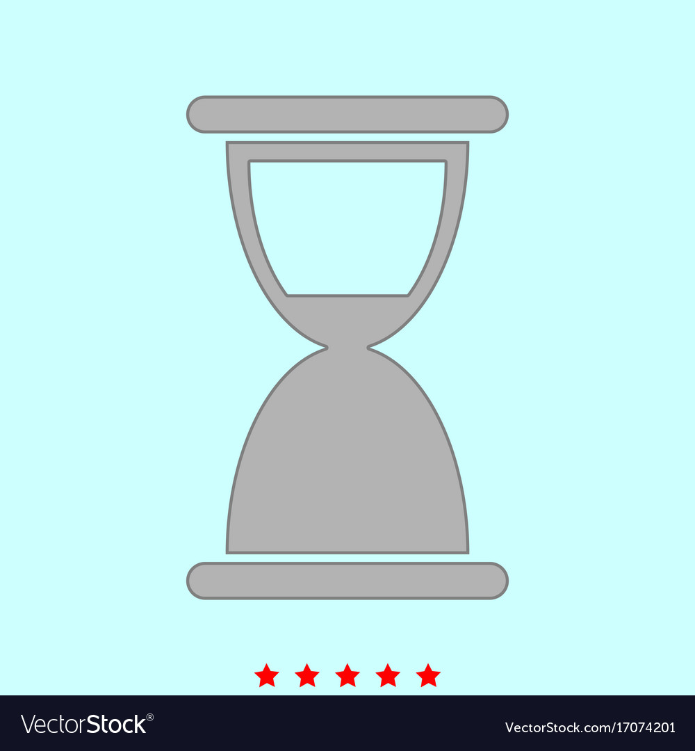 Hourglass it is icon