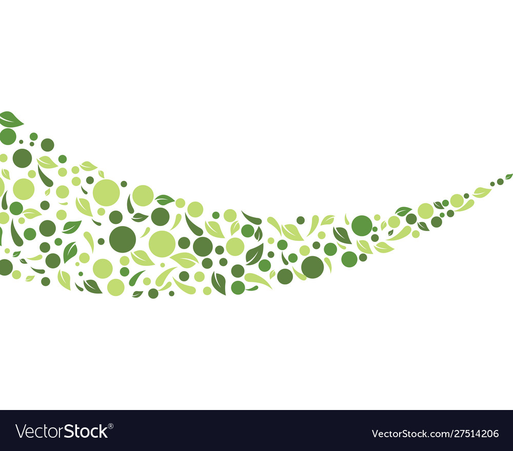 Eco nature leaf background