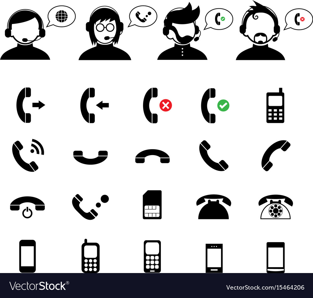 Operator customer support and basic phone set
