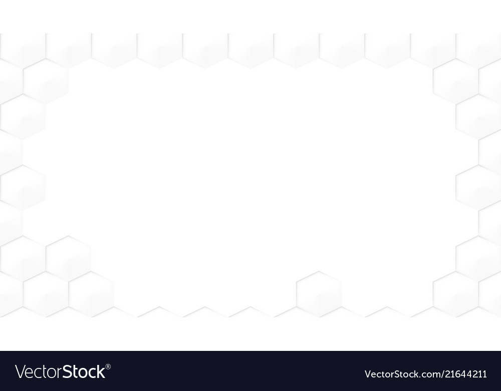Abstract light seamless hexagon honeycomb