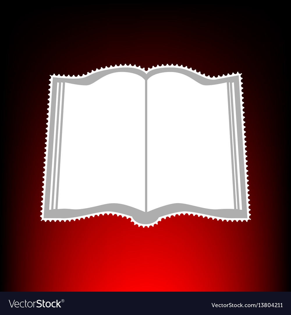 Book style on red