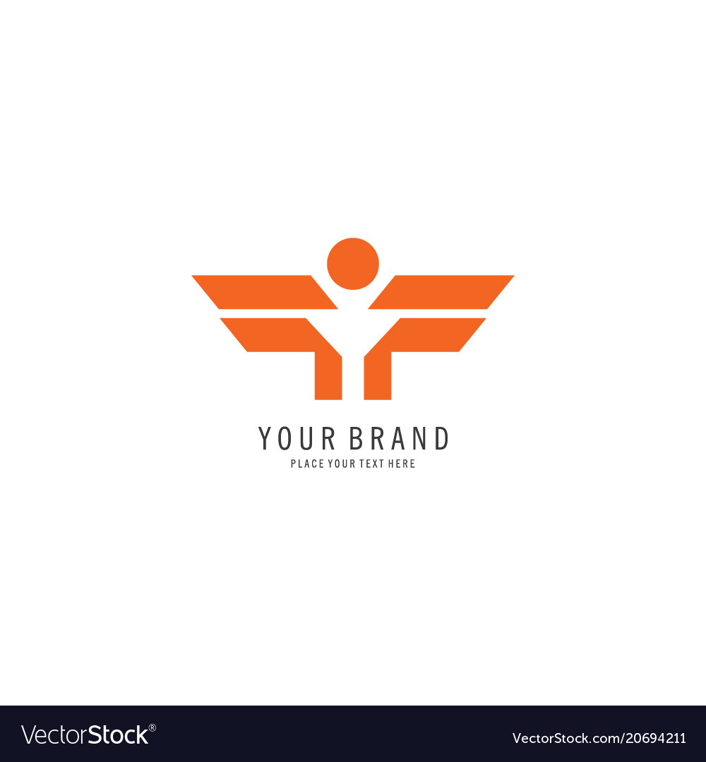 Military symbol logo vector image