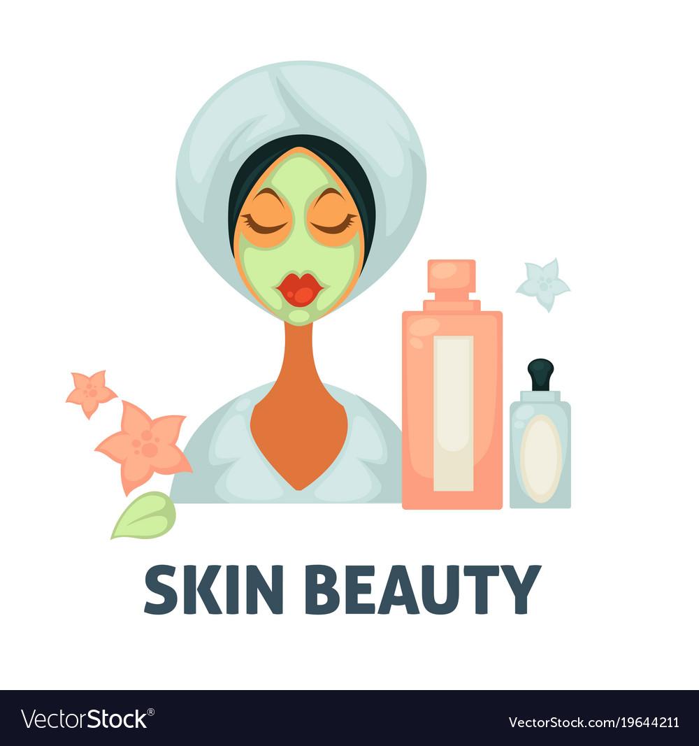 Skin Beauty Spa Wellness Salon Icon Of Royalty Free Vector