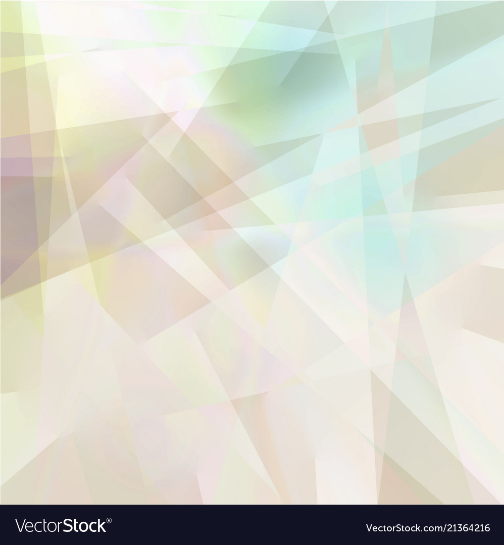 Abstract Geometric Background In Pastel Colors