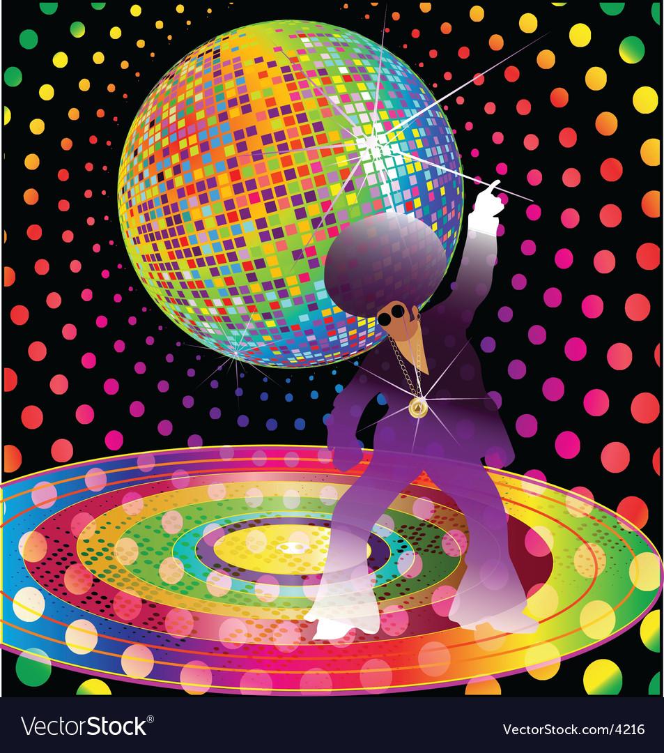 Dance fever vector image