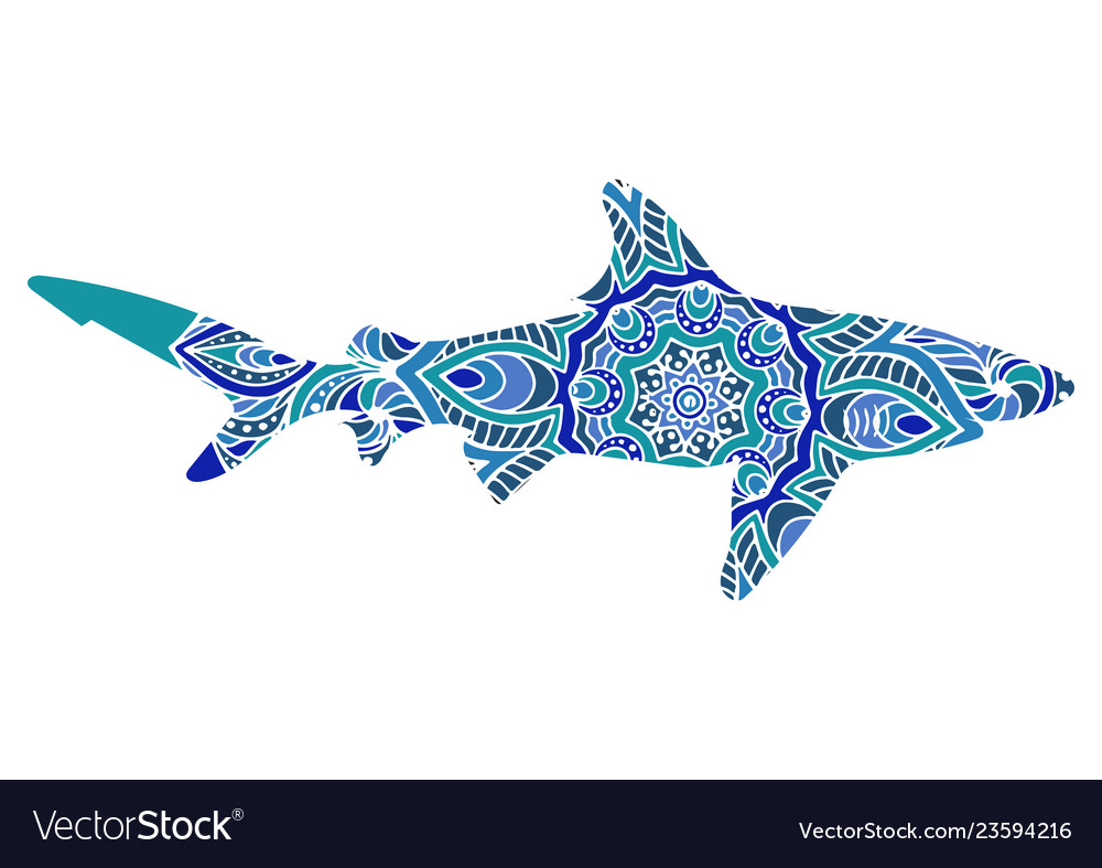 Ethnic ornamental shark